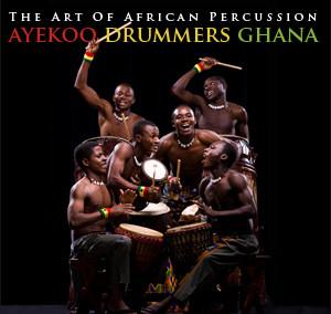 Ayekoo Drummers of Ghana