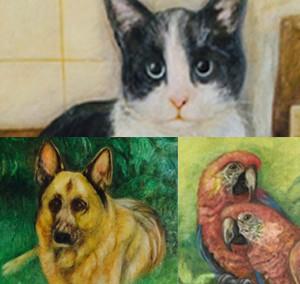 Sie möchten Ihr Haustier als schönes Kunstbild verewigen?